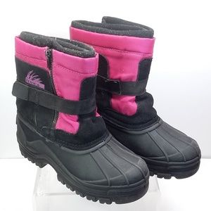 Itasca Snow Stomper pink black Boots for G…